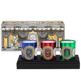 Edicion Holiday (set 3 velas de 70 gr)