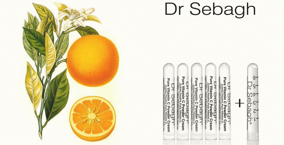 Viamin C Powder Cream Dr Sebagh
